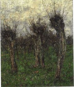 Christian Rohlfs (German, 1849 - 1938) Old Willows at Ehringsdor (Alte Weiden bei Ehringsdorf), 1892,
