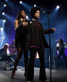 Prince and Damaris Lewis