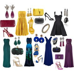 """DW Evening"" by melaniespencer on Polyvore"