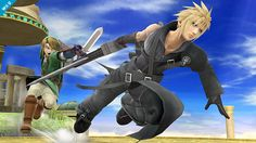 Super Smash Bros. for Nintendo 3DS / Wii U: Cloud (WHY IS HIS AC APPEARANCE SO HAWT.)