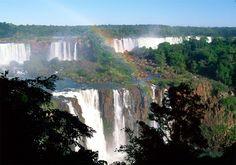 Najpiękniejsze miejsca na Ziemi - Wodospad Iquacu