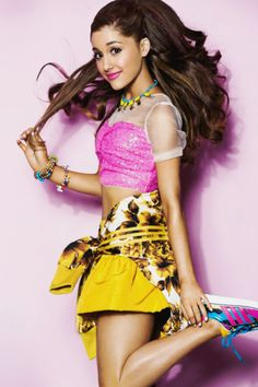 Ariana Grande Party Style