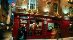 Pub in Temple Bar in Dublin