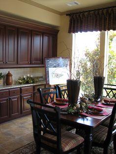 Breakfast Breakfast Area Trendmaker Homes Cross Creek Creek Ranch