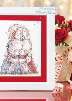 Stitch A Hug (Somebunny) From Cross Stitch Crazy N°212 February 2016 2 of 4