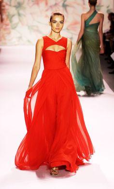 Spring 2011 New York Fashion Week: Monique Lhuillier 2010-09-13 16:04:20   POPSUGAR Fashion Photo 1