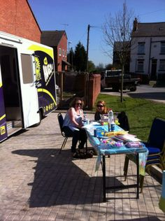 Lovely day for face painting at Woodville Square