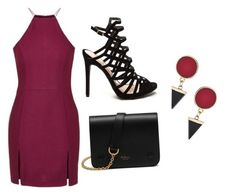 """""""Untitled #115"""" by zeyneb-mess ❤ liked on Polyvore featuring Topshop and Mulberry"""