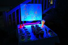 Glow+in+the+Dark+Party+Ideas+for+Teenagers | Life...a CeleBration!: End of School late-nite PARTY!