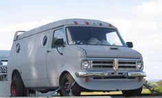 1977 Bedford CF LWB Van 308V8 custom body unfinished rebuild VIC