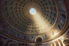 The Agripa's Pantheon revelation - The Pantheon is one of the great spiritual buildings of the world. It was built as a Roman temple and later consecrated as a Catholic Church. Its monumental porch originally faced a rectangular colonnaded temple courtyard and now enfronts the smaller Piazza della Rotonda. Through great bronze doors one enters one great circular room. The interior volume is a cylinder above which rises the hemispherical dome. Opposite the door is a recessed semicircular apse…