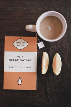 Make time for reading The Great Gatsby | tea + a good read is all we need too!