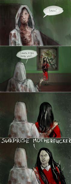 art, Ruvik, Sebastian, LOL