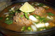 Caldo de Albondigas--Meatball soup