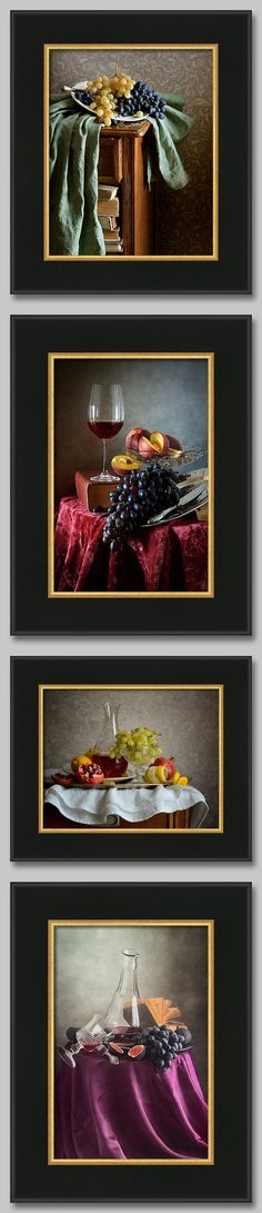 Still life photography with grapes and wine http://pixels.com/profiles/nikolay-panov.html?tab=artworkgalleries&artworkgalleryid=713896