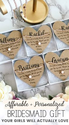 Timeless Bridesmaid Gift Idea Affordable & personalized bridesmaid gift favor that is the perfect surprise your girls will love! Timeless bridesmaid g. Bridesmaid Favors, Asking Bridesmaids, Bridesmaid Proposal Gifts, Wedding Gifts For Bridesmaids, Bridesmaids And Groomsmen, Gifts For Wedding Party, Our Wedding, Wedding Ideas, Dream Wedding