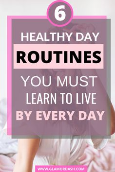 If you wish to have a healthy day, you must learn to live by this healthy day routines. If you keep neglecting these healthy practices, you ain't doing yourself any good. See the healthy day routines you need to follow all day. #healthyday #healthydayroutines #healthandwellbeing #healthydayschedule #healthydayroutinelife
