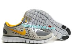 new product b7da9 d52b0 Latest Listing Discount Grey Yellow Nike Free Run Mens Shoes Store. Ladies  Style World