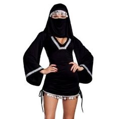 Your idea of a good time??!   Sexy Middle Eastern Arab Girl Burka Halloween Costume: Amazon.co.uk: Toys & Games