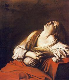 CARAVAGGIO, Maddalena in estasi, 1606, olio su tela, cm. 106,5 x 91, collezione privata