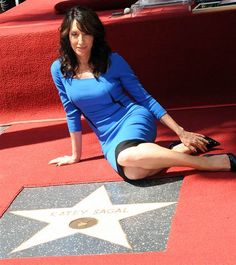 Image: Katey Sagal is honored with a star on The Hollywood Walk Of Fame.