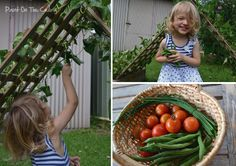 Bean hut. Kids will want to eat their veggies when they're grown this way!