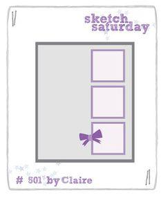 Sketch Saturday: Week #501 with Just Me Digital Stamps
