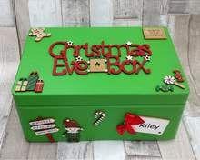 Christmas Eve Box For Kids, Kids Christmas Treats, Wooden Christmas Eve Box, Xmas Eve Boxes, Personalised Christmas Eve Box, Babys 1st Christmas, Cozy Christmas, Christmas Time, Christmas Crafts