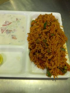 Veg Pulao at Food Street (Jalpaan)
