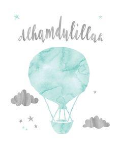 Alhamdulillah Mint Watercolor Islamic Nursery Decor 8x10   Etsy Nursery Wall Art, Nursery Decor, Baby Decor, Islamic Wallpaper, Of Wallpaper, Cool Illusions, Baby Posters, Islamic Wall Art, Wallpaper Iphone Disney