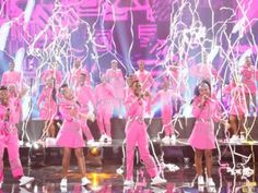 A shower of streamers added the final touch to a breathtaking performance of Beautiful Day  by Ndlovu, the South African Youth Choir at America's Got Talent - bringing the audience and judges to their feet in rapturous applause. Well done guys ! You make South Africa proud ! Nelson Mandela's children in all their glory !  #youth_choir #african_fashion #pink #jewellery  #africanstreetvibe