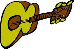 Image for guitar music clip art