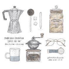 """9月6日より青山のギャラリーショップ""""doux dimanche""""にて個展を開催します。 酒井マオリ個展""""Coffee for you"""" 会期:9月6日(火)~9月11日(日) 12:00〜19:30 (定休日:毎週月曜) http://www.2dimanche.com/shop_info/dd_info.html Maori Sakai Solo exhibition """"Coffee for you"""" 6-11 September 3-5-6 Jingu-mae Shibuya-ku..."""