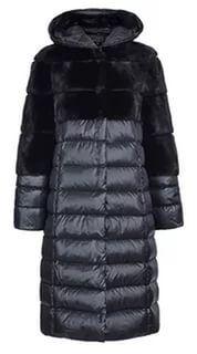пальто из искусственного меха комбинированного: 23 тыс изображений найдено в Яндекс.Картинках