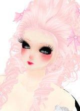 Marie Antoinette hair! Photo by kikistrawberrys