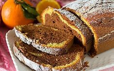 Plumcake bicolore Chiffon Cake, Creme Brulee, Meatloaf, French Toast, Bread, Breakfast, Desserts, Food, Morning Coffee
