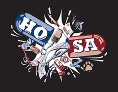 Hosa T-Shirt Ideas | HOSA T-Shirt logo | Flickr - Photo Sharing!