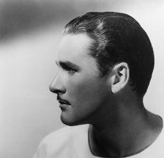 Handsome profile, oh yes.... Errol Flynn (Forever Flynn) #ErrolFlynn