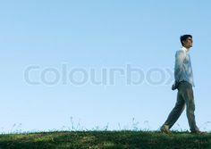 green grass, blue skies, theo walks Theo Theo, Blue Skies, Green Grass, Walks, Sky, Film, Heaven, Movie, Film Stock