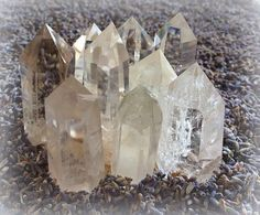 Small Clear Quartz generator points For by TheSageGoddess on Etsy, $25.00