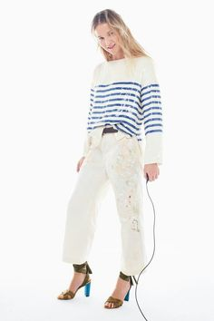 Crew Spring 2017 Ready-to-Wear Fashion Show Collection: See the complete J.Crew Spring 2017 Ready-to-Wear collection. Look 32 Fashion Week, Fashion 2017, Fashion Show, Fashion Studio, Womens Fashion, Style Fashion, New Fashion Clothes, Fashion Outfits, Fashion Tips