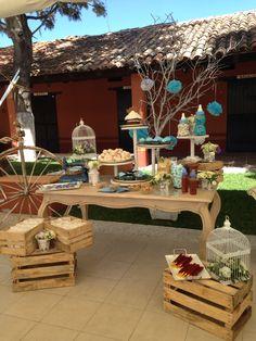Mesa de dulces en Hacienda Los Picachos. Ideas para bodas. Wedding and wedding ideas.