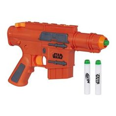 Kids can imagine charging into battle like Captain Cassian Andor with this Star Wars Rogue One Nerf Captain Cassian Andor Blaster by Nerf, featuring glow-in-the-dark darts. Nerf Gun, Outdoor Games, Outdoor Play, Bullets For Sale, Arma Nerf, Nerf Toys, Star Wars Toys, Learning Toys, Rogues
