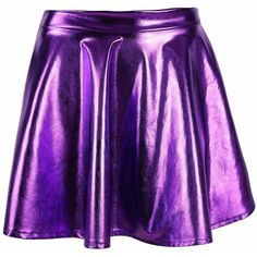 Simplicity Women's Metallic Ballet Dance Flared Skater Skirt Fancy... ($16) ❤ liked on Polyvore featuring dresses, fancy dress, ballet dress, flare dress, purple dress and dressy dresses