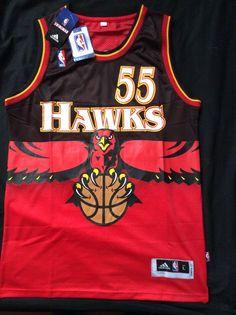 Dikembe Mutombo Throwback Atlanta Hawks Jersey Size Large from $49.99