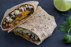 Recipe | Sweet Potato and Kale Wraps