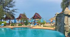 Koh Lanta Blue Andaman beach hotel based at Klong Khong beach.