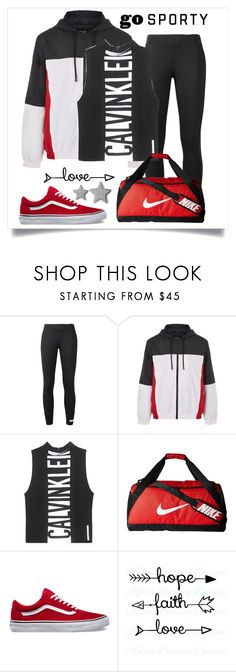 """Windbreaker"" by heythatsalya ❤ liked on Polyvore featuring adidas, Topshop, Calvin Klein Jeans, NIKE and Gucci"