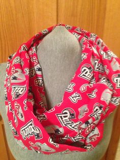 New England Patriots  Infinity scarf on Etsy,