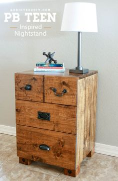 1000 images about nightstand plans on pinterest home projects bedside tables and ana white. Black Bedroom Furniture Sets. Home Design Ideas